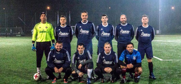 Drużyna DEK-POL na pudle w lidze Futbolsport