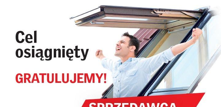 DEK-POL w gronie 25 najlepszych sprzedawców Velux w Polsce