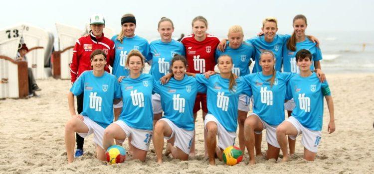 Mistrzostwach Polski Kobiet w Piłce Nożnej Plażowej