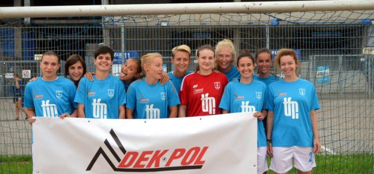 DEK-POL sponsorem kobiecej drużyny plażowej piłki nożnej K.S.S. Kotwica Kórnik